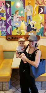 Kimmy Keck and her daughter, Phoenix