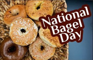 Celebrate National Bagel Day this Saturday with us at the Bagel Bakery.